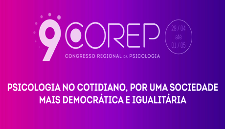 9º Corep será de 29 de abril a 1º de maio