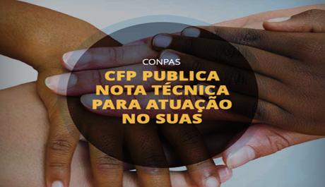 CFP publica nota técnica para atuação no Suas