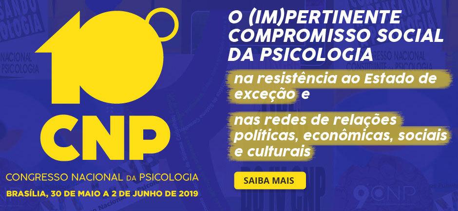 10º Congresso Nacional da Psicologia