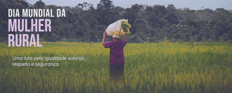 Mulher rural enfrenta tem papel importante no campo